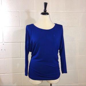 Ralph Lauren Sport cobalt blue long sleeve t-shirt